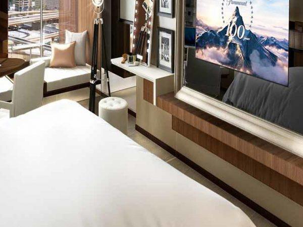 Paramount Dubai Hotel Stage Room