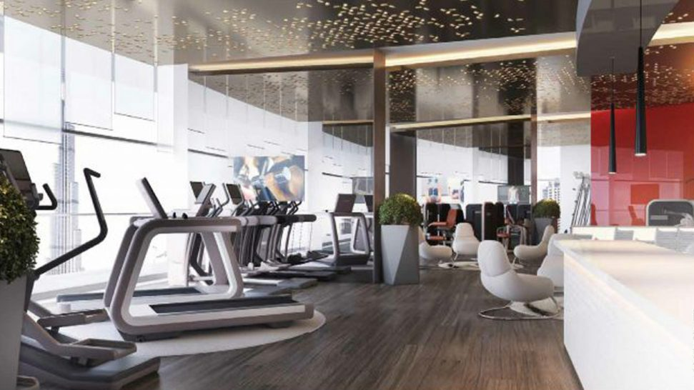 Paramount Hotel Dubai Gym