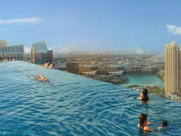 Paramount Hotel Dubai Infinity Pool