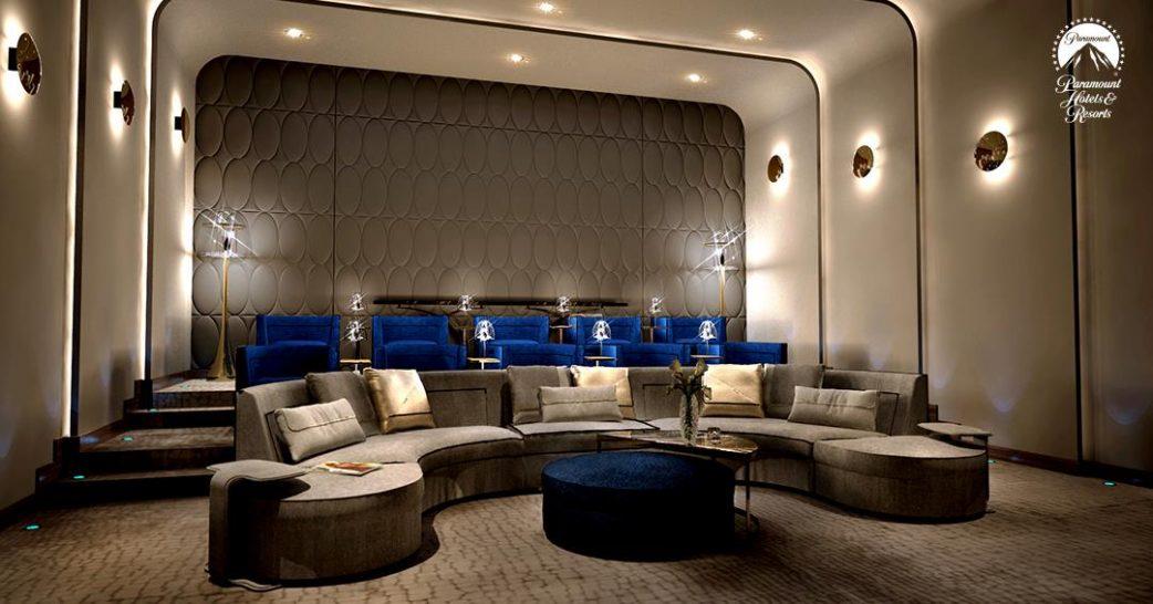 Paramount Hotel Dubai Movie Screening Room