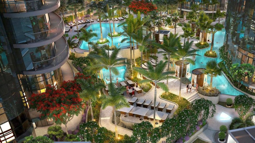 Paramount Hotel Dubai Poolside