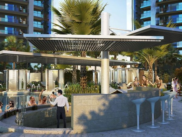 Paramount Hotel Dubai Poolside Cabana