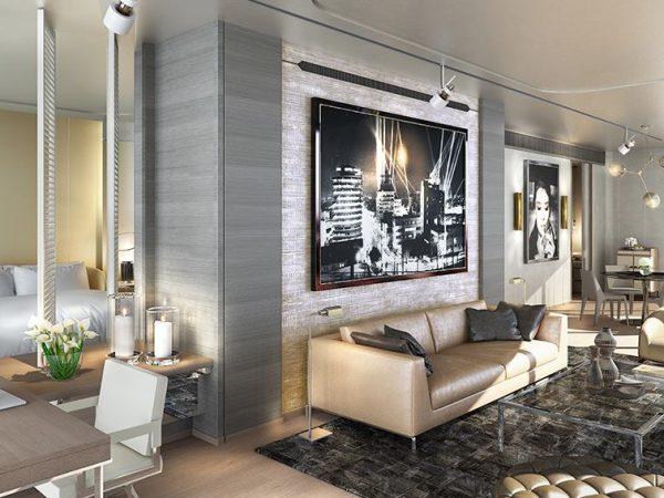 Paramount Hotel Dubai Silver Suite