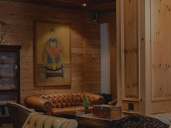 Park Gstaad cigar lounge