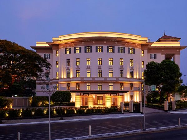 Rosewood Yangon Night View