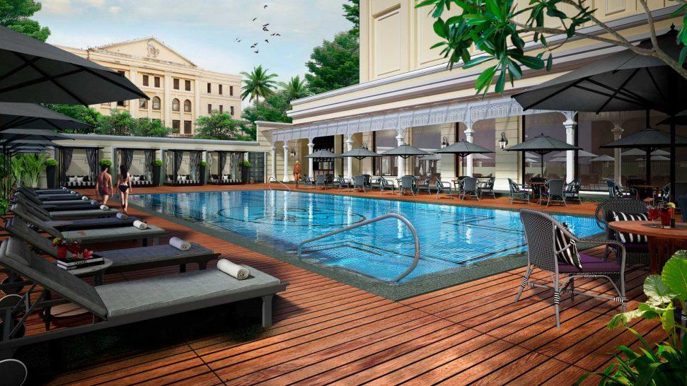 Rosewood Yangon Pool