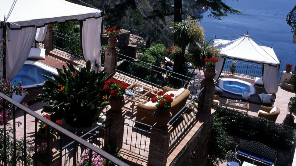 San Domenico Palace Hotel Double Terrace Mini Pool