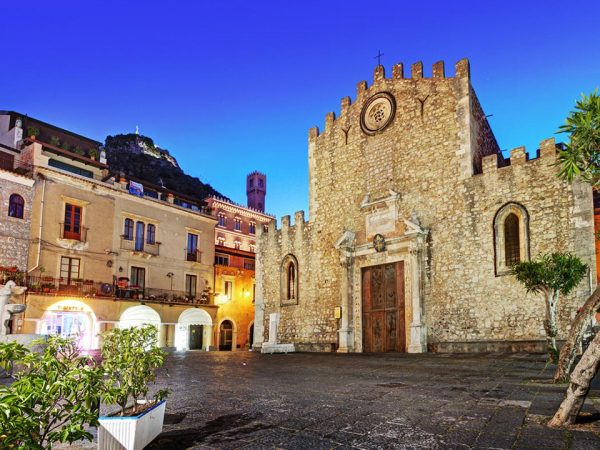 San Domenico Palace Hotel Exterior