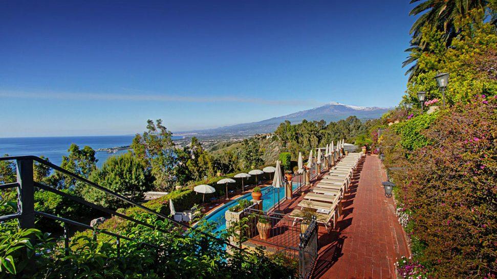 San Domenico Palace Hotel Garden View