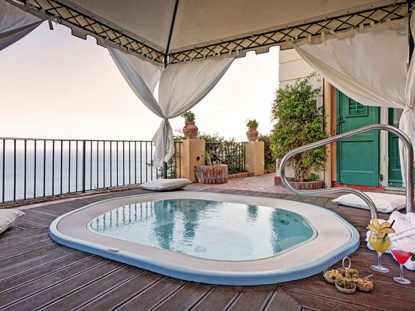 San Domenico Palace Hotel Indoor Pool