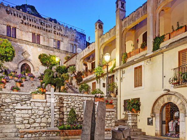 San Domenico Palace Hotel Lobby