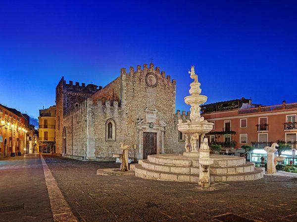 San Domenico Palace Hotel Night View