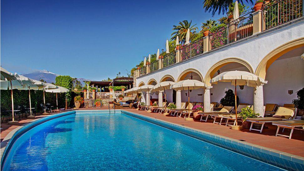 San Domenico Palace Hotel Pool