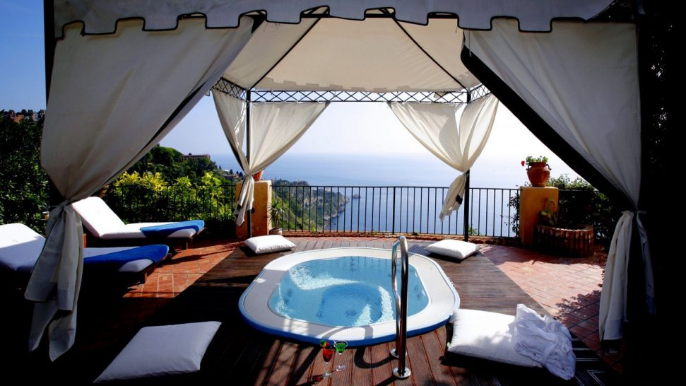 San Domenico Palace Hotel Suite Terrace Mini Pool