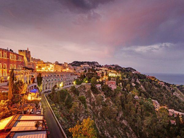 San Domenico Palace Hotel View