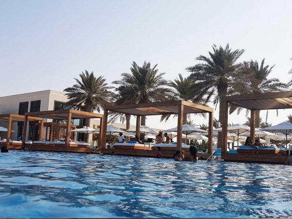 The Abu Dhabi Editions Beach clube