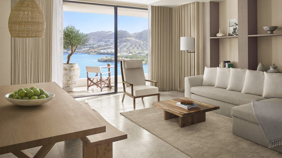 The Bodrum EDITION Sea View Loft Suite