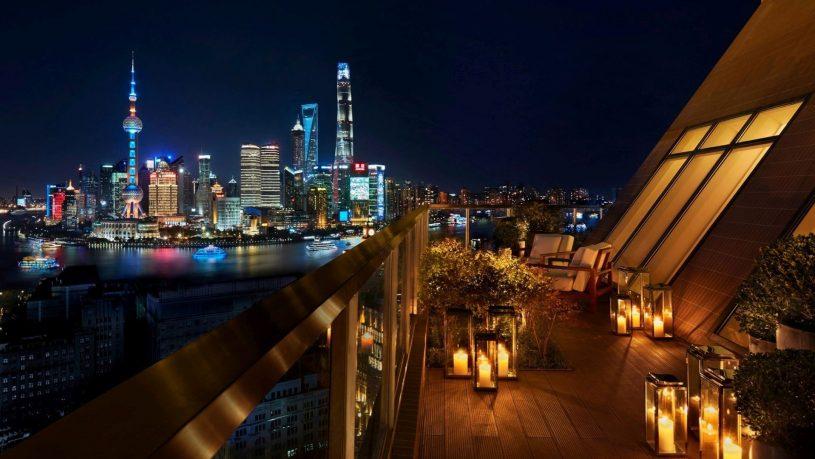 The Shanghai Edition Terrace Bar