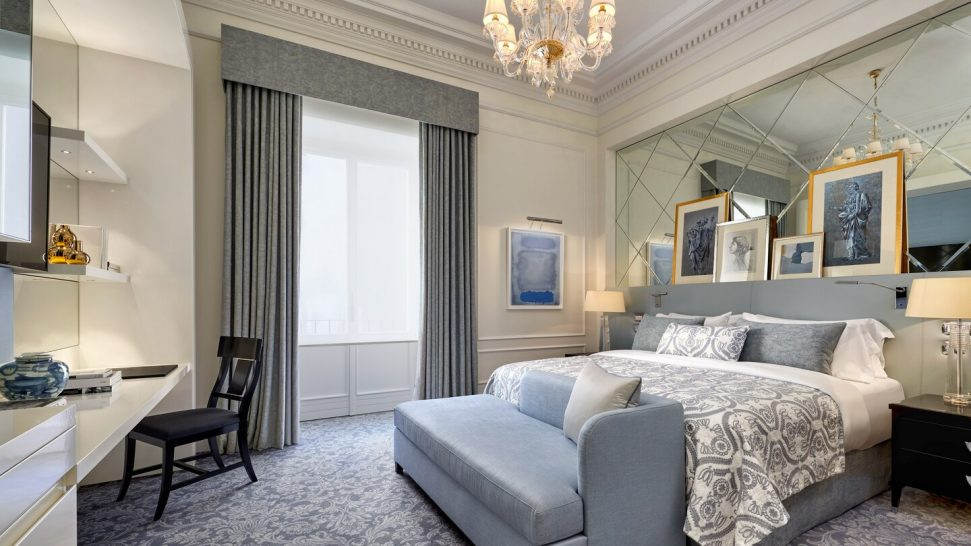 The St. Regis Rome Deluxe Double Twin Guest room, 2 Twin Single Bed