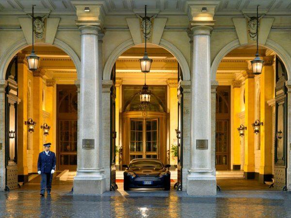 The St. Regis Rome Hotel lobby
