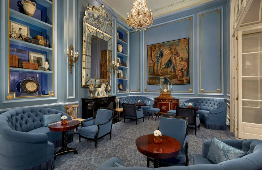 The St. Regis Rome Library