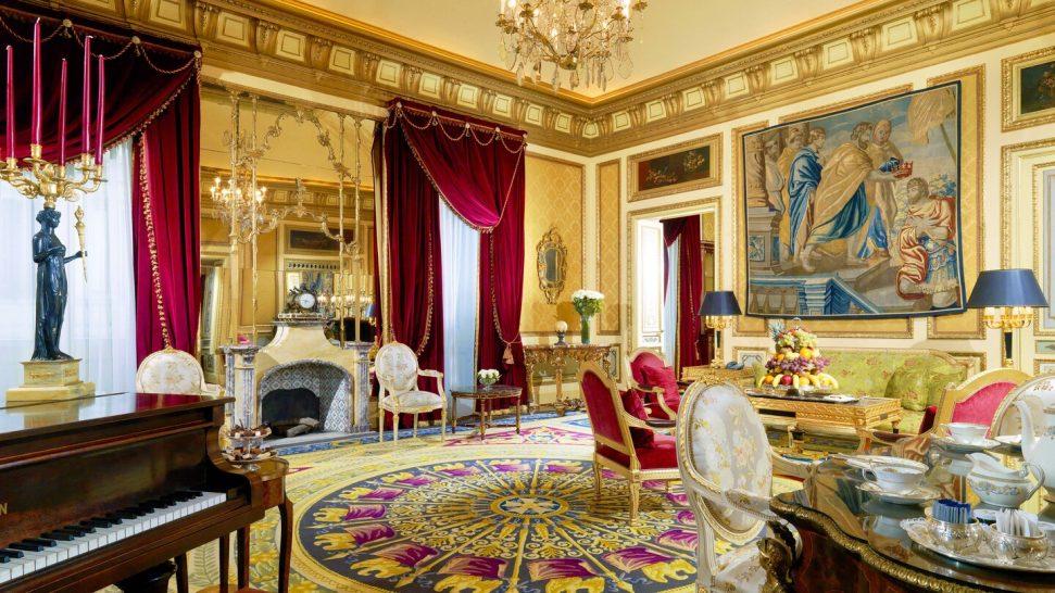 The St. Regis Rome Royal Suite Suite, 1 King