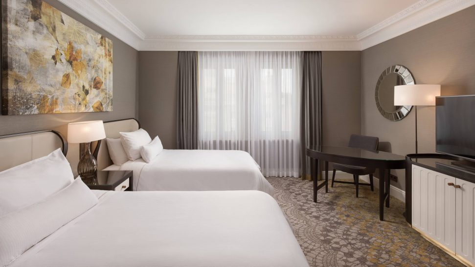 The Westin Palace Madrid Executive Room Guest room, 2 Twin Single Bed High floor