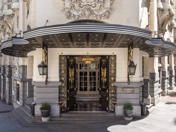 The Westin Palace Madrid Main Entrance