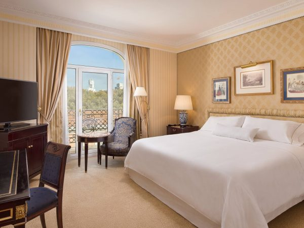 The Westin Palace, Madrid Premium Room Guest room, 1 King, City view