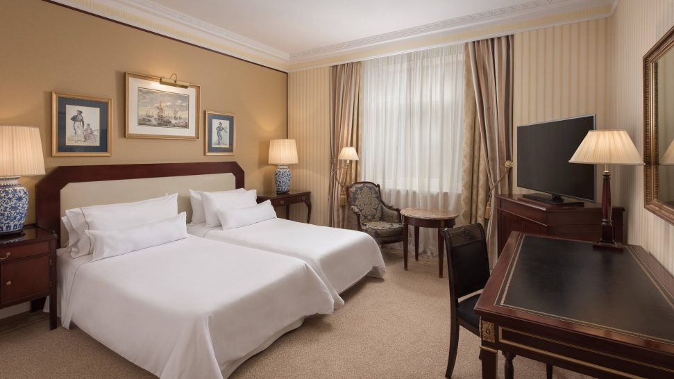 The Westin Palace, Madrid Premium Room Guest room, 2 Twin Single Bed(s) City view