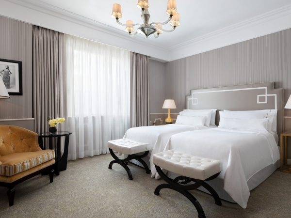 The Westin Palace, Milan Contemporary Guest room, 2 Twin Single Bed(s)