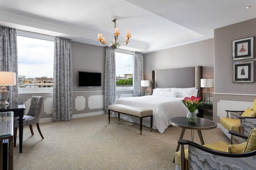 The Westin Palace, Milan Deluxe Suite 1 Bedroom Larger Suite 1 King Bathrooms 2 City view