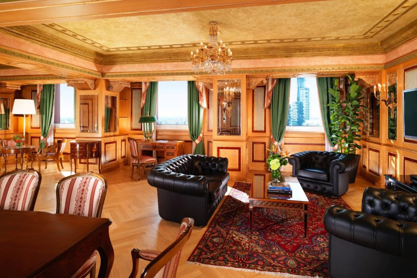 The Westin Palace, Milan Diplomatic Suite 1 Bedroom Vice Presidential Suite
