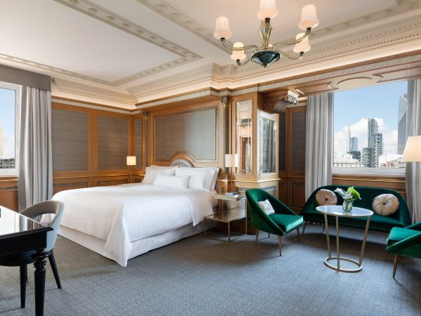The Westin Palace, Milan Executive Suite 1 Bedroom Executive Suite, 1 King, City view