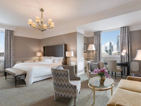 The Westin Palace, Milan Grand Deluxe Contemporary Larger Guest room, 1 King, City view