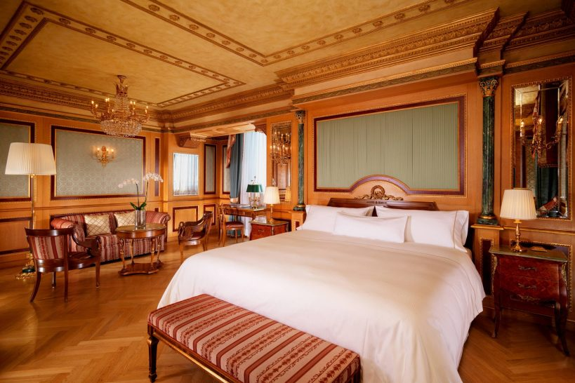 The Westin Palace, Milan Presidential Suite 1 King Bathrooms 2 City view