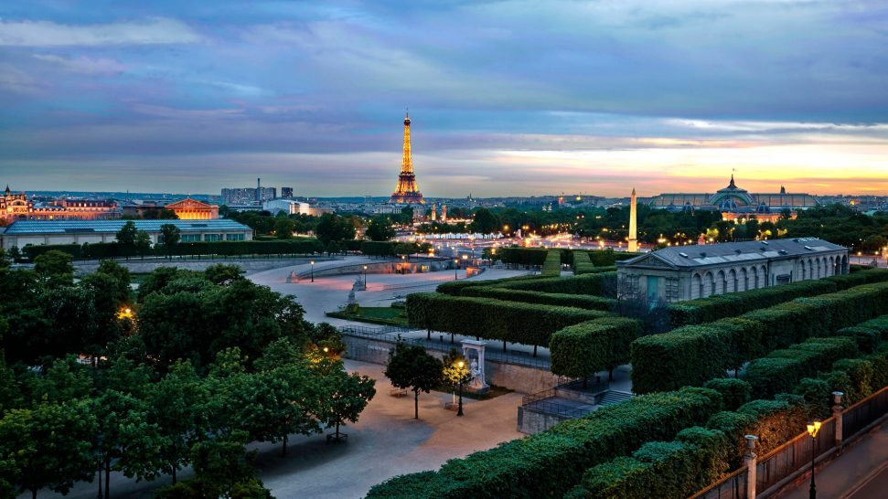 The Westin Paris Vendme Eiffel Tower View