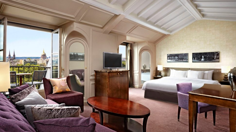 The Westin Paris Vendme Junior Suite with a View