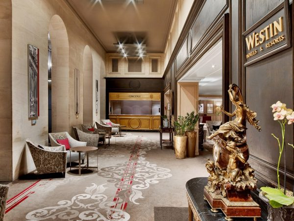 The Westin Paris Vendme Lobby1