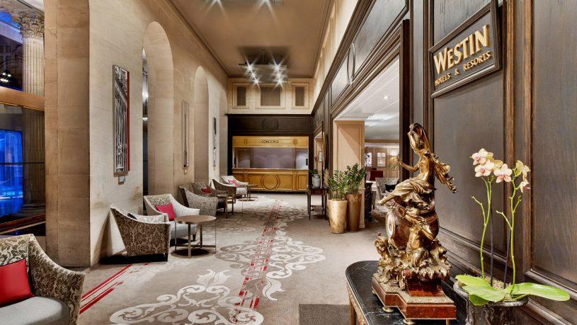 The Westin Paris Vendme Lobby1