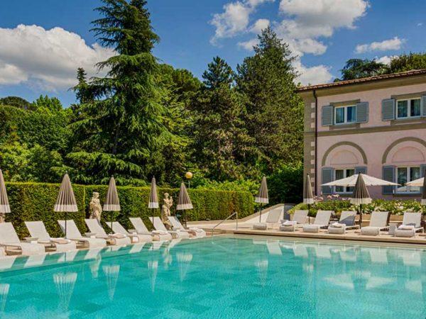 Villa Cora Outdoor Pool View
