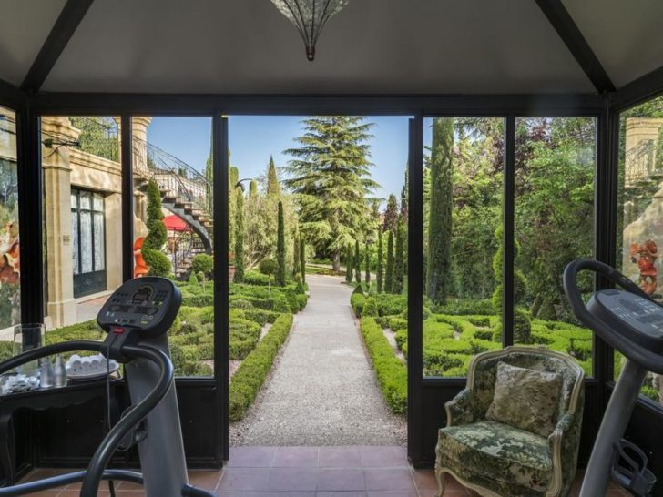 Villa Gallici Hotel Gym