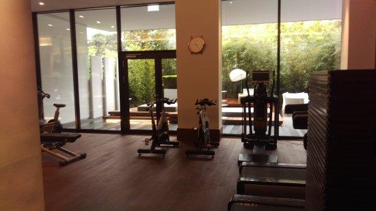 royal savoy hotel spa lausanne gym