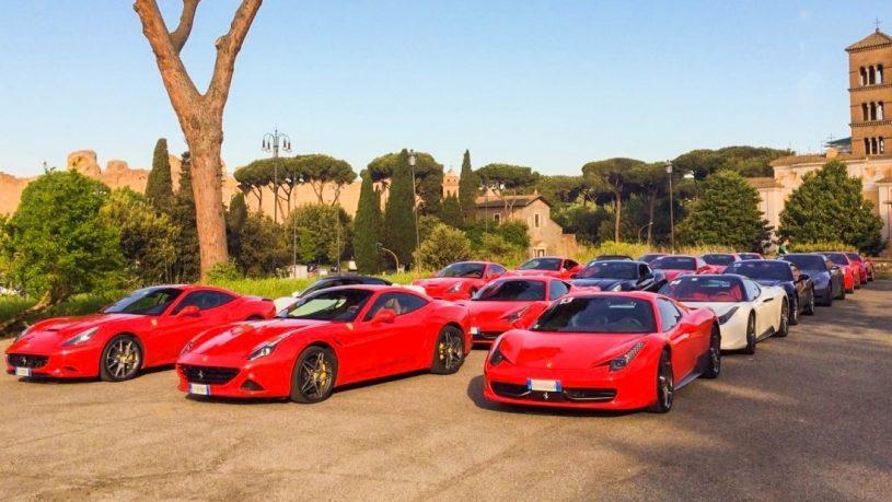 100Allora Supercars in Rome