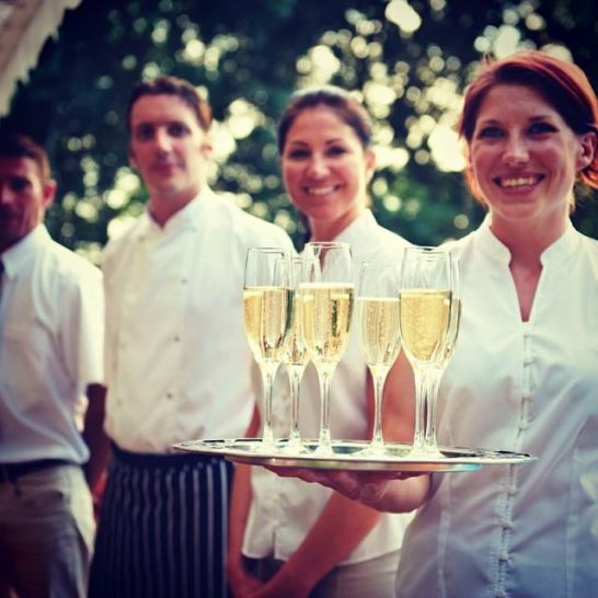 Belmond Afloat in France Dining Champagne