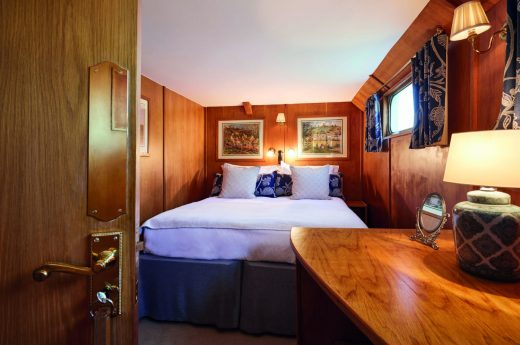 Belmond Afloat in France Napoleon Bedroom