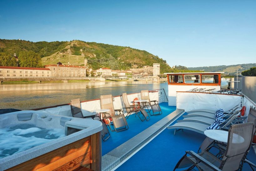 Belmond Afloat in France Napoleon deck