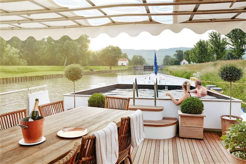 Belmond Afloat in France Plunge Pool