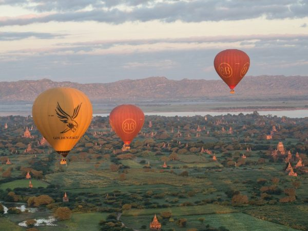Belmond Road to Mandalay Hot Air Ballooning
