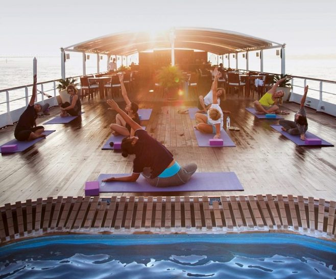 Belmond Road to Mandalay Yoga